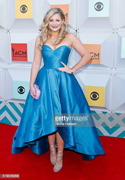 Lauren Alaina attends the 51st Academy of Country Music Awards at MGM Grand Garden Arena on April 3 2016 in Las Vegas Nevada