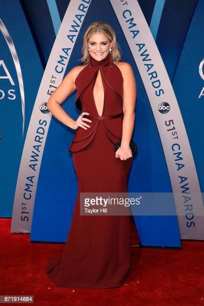 Lauren Alaina attends the 51st annual CMA Awards at the Bridgestone Arena on November 8 2017 in Nashville Tennessee