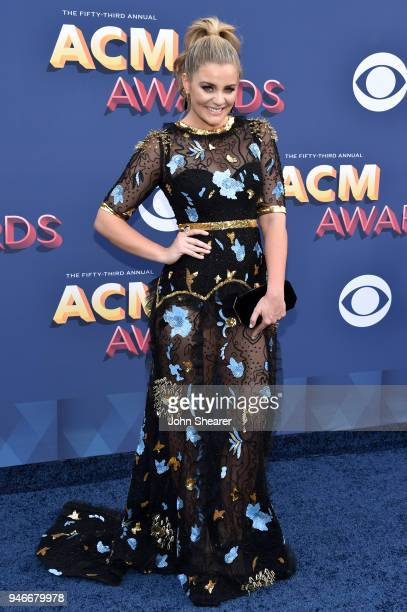 Lauren Alaina attends the 53rd Academy of Country Music Awards at MGM Grand Garden Arena on April 15 2018 in Las Vegas Nevada