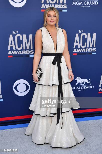 Lauren Alaina attends the 54th Academy Of Country Music Awards at MGM Grand Hotel Casino on April 07 2019 in Las Vegas Nevada