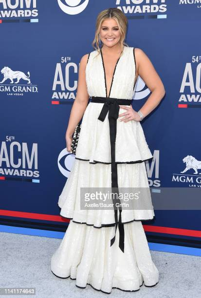 Lauren Alaina attends the 54th Academy of Country Music Awards at MGM Grand Garden Arena on April 07 2019 in Las Vegas Nevada