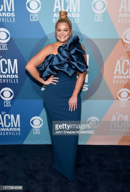 Lauren Alaina attends the 55th Academy of Country Music Awards at the Grand Ole Opry on September 16, 2020 in Nashville, Tennessee. The ACM Awards...
