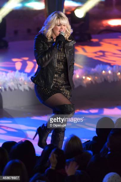 Lauren Alaina performs during the 81st annual Rockefeller Center Christmas Tree Lighting Ceremony on December 4 2013 in New York City