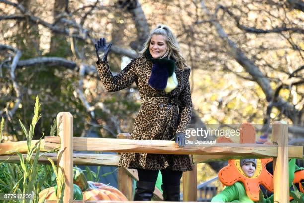 Lauren Alaina rides in the 91st Annual Macy's Thanksgiving Day Parade on November 23 2017 in New York City