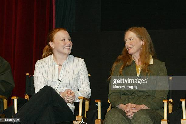 Lauren Ambrose and Frances Conroy during THE ACADEMY OF TELEVISION ARTS PRESENTS 'BEHIND THE SCENES OF 'SIX FEET UNDER'' at Leonard H Goldenson...