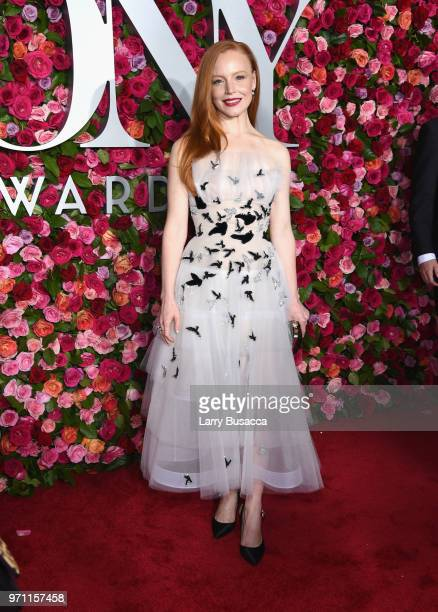 Lauren Ambrose attends the 72nd Annual Tony Awards at Radio City Music Hall on June 10 2018 in New York City