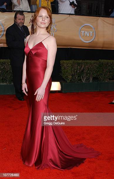 Lauren Ambrose during 10th Annual Screen Actors Guild Awards Arrivals at Shrine Auditorium in Los Angeles California United States