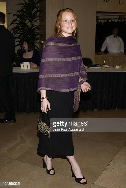Lauren Ambrose during 53rd Annual ACE Eddie awards at Beverly Hilton Hotel in Beverly Hills California United States