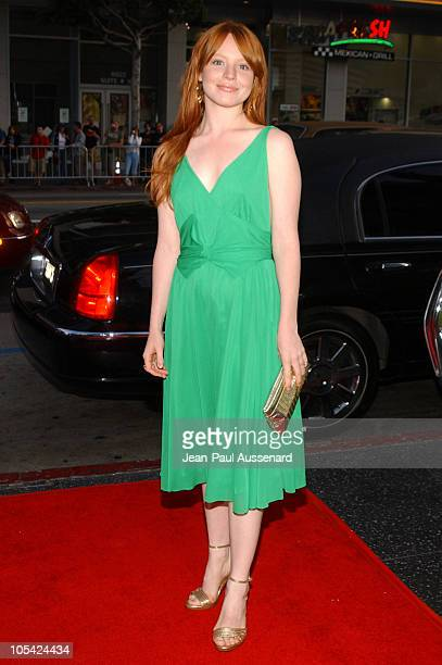 Lauren Ambrose during HBO's 'Six Feet Under' Season 5 Premiere at Chinese Theater in Hollywood California United States