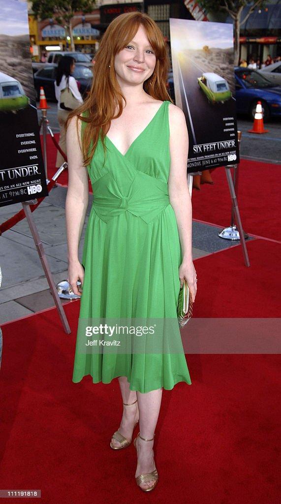 "HBO's ""Six Feet Under"" Season 5 Premiere - Red Carpet"