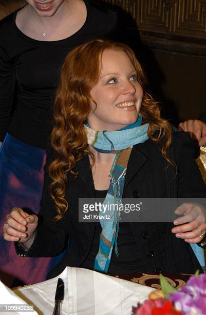 Lauren Ambrose during HBO's Six Feet Under Third Season World Premiere After Party at Capitale in New York City New York United States