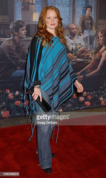 Lauren Ambrose during Los Angeles Premiere of HBO's 'Six Feet Under' at Grauman's Chinese Theatre in Hollywood California United States