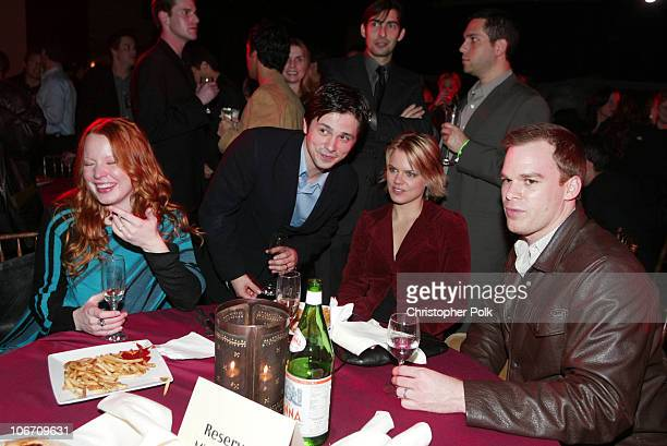 Lauren Ambrose Freddy Rodriguez Amy Spanger and Michael C Hall