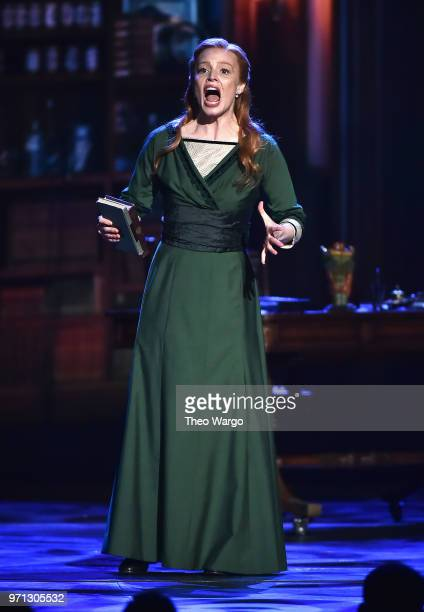 Lauren Ambrose from the cast of My Fair Lady performs onstage during the 72nd Annual Tony Awards at Radio City Music Hall on June 10 2018 in New York...