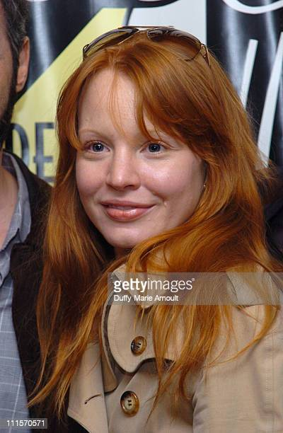 Lauren Ambrose of 'Awake and Sing' during 2006 Drama Desk Award Nominations at Arte Cafe in New York City New York United States