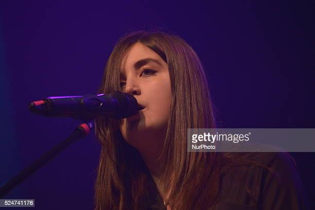 Lauren Aquilina performing live at the Manchester O2 Ritz live music venue in Manchester, Greater Manchester, England, United Kingdom, on Thursday...