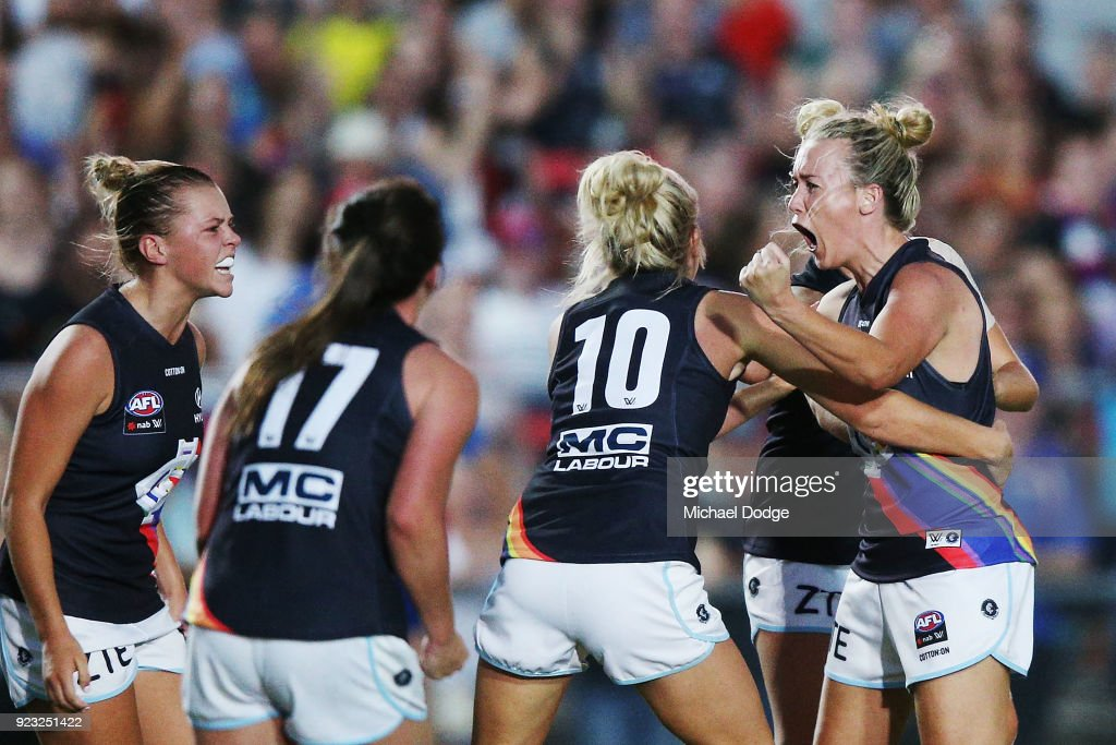 AFLW Rd 4 - Western Bulldogs v Carlton : News Photo