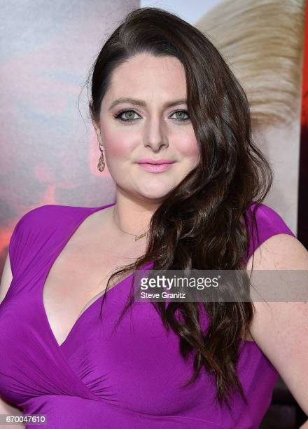"""Lauren Ash arrives at the Premiere Of Warner Bros. Pictures' """"Unforgettable"""" at TCL Chinese Theatre on April 18, 2017 in Hollywood, California."""