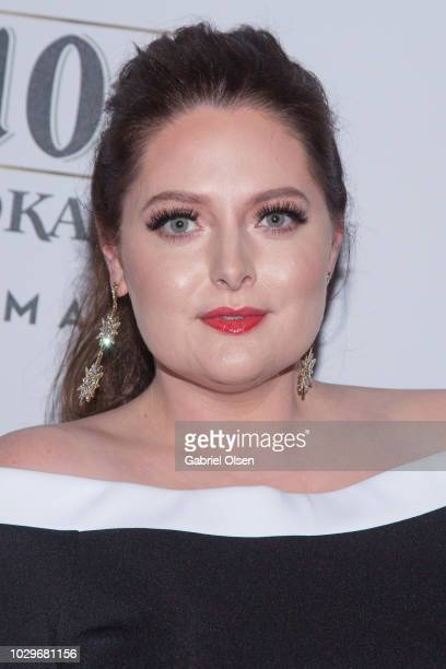 Lauren Ash arrives for the Ketel One family-made vodka celebrates Queer Eye Cast at pre-Emmy Party at Kimpton La Peer Hotel on September 8, 2018 in...