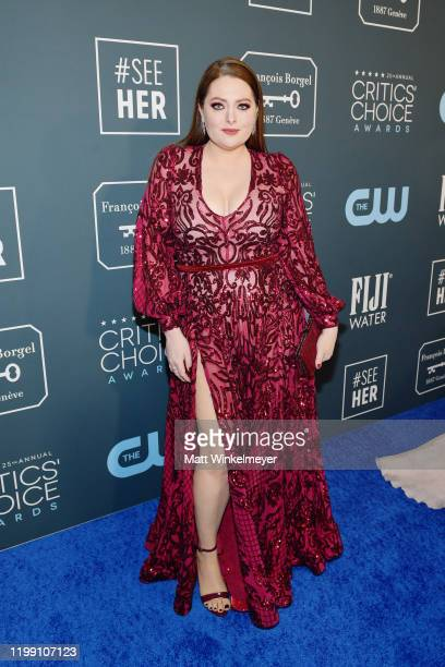 Lauren Ash attends the 25th Annual Critics' Choice Awards at Barker Hangar on January 12 2020 in Santa Monica California