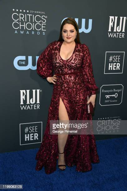 Lauren Ash attends the 25th Annual Critics' Choice Awards held at Barker Hangar on January 12 2020 in Santa Monica California