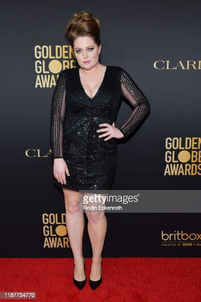 Lauren Ash attends the HFPA And THR Golden Globe ambassador party at Catch LA on November 14 2019 in West Hollywood California