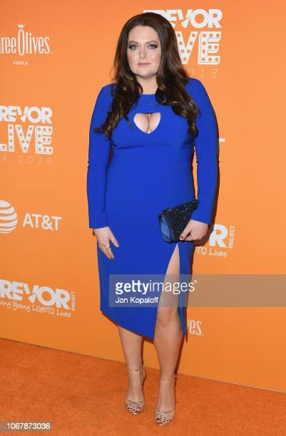 Lauren Ash attends The Trevor Project's 2018 TrevorLIVE LA Gala at The Beverly Hilton Hotel on December 2 2018 in Beverly Hills California
