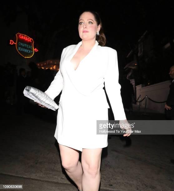 Lauren Ash is seen on January 27, 2019 in Los Angeles, CA.