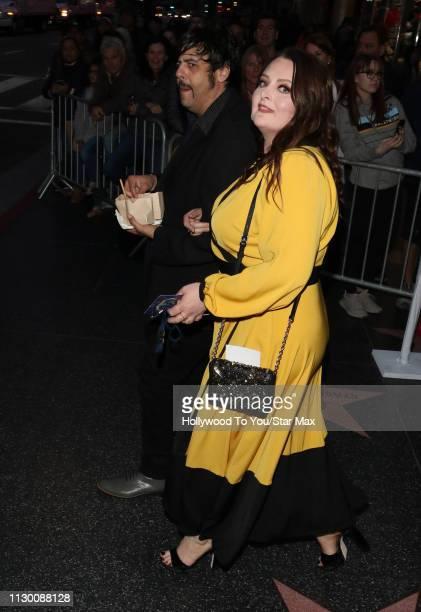 Lauren Ash is seen on March 11 2019 in Los Angeles