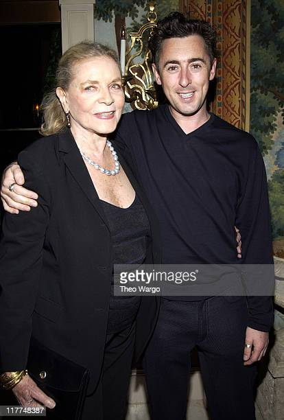 Lauren Bacall and Alan Cumming during 'Veronica Guerin' Special Screening and After Party in New York City at MGM Screening Room and Hotel Plaza...