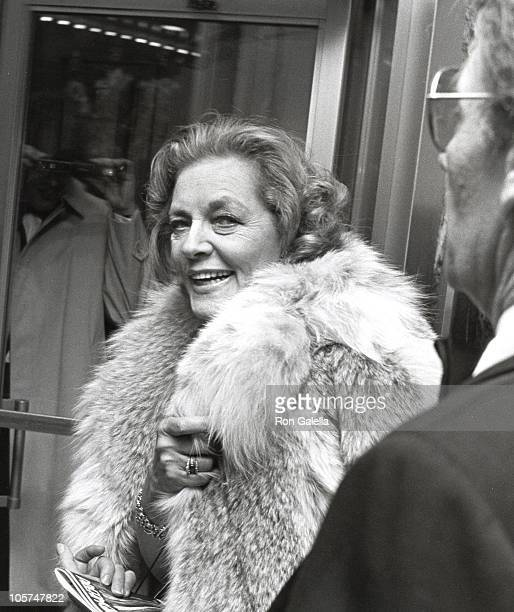 Lauren Bacall and Harry Gaurdino during Dreamgirls Opening at Imperial Theater in New York City New York United States