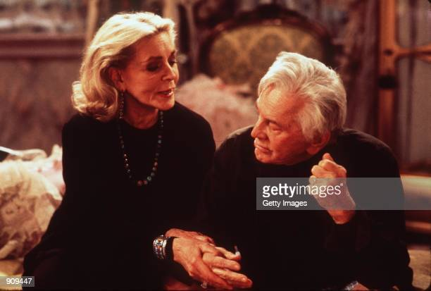 Lauren Bacall and Kirk Douglas star in Diamonds Photo Miramax