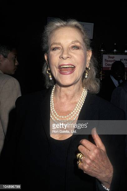 """Lauren Bacall during """"In & Out"""" - World Premiere at Chelsea West Cinemas in New York City, New York, United States."""