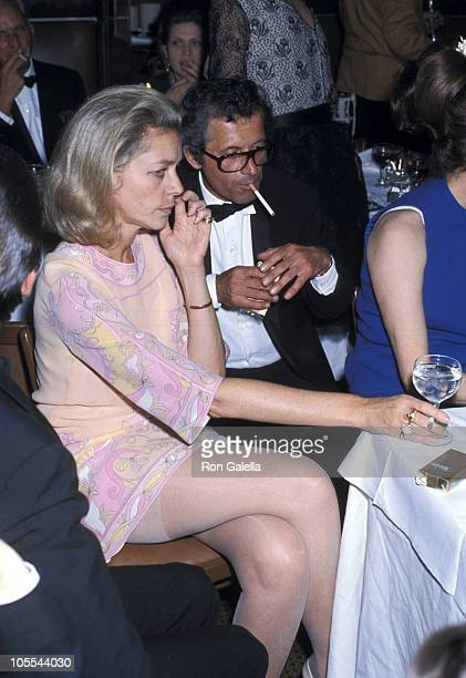 Lauren Bacall during Lauren Bacall Sighting at Sardi's January 1 1968 at Sardi's in New York City New York United States