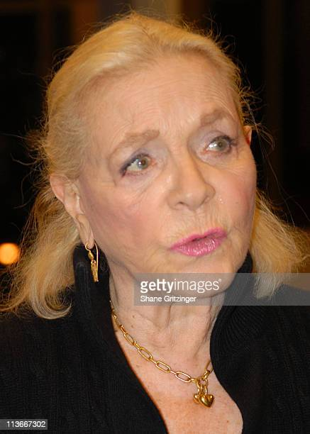 Lauren Bacall during Lauren Bacall Signs Copies Of Her Autobiography By Myself and Then Some December 6 2006 at Barnes Noble / Lincoln Triangle in...