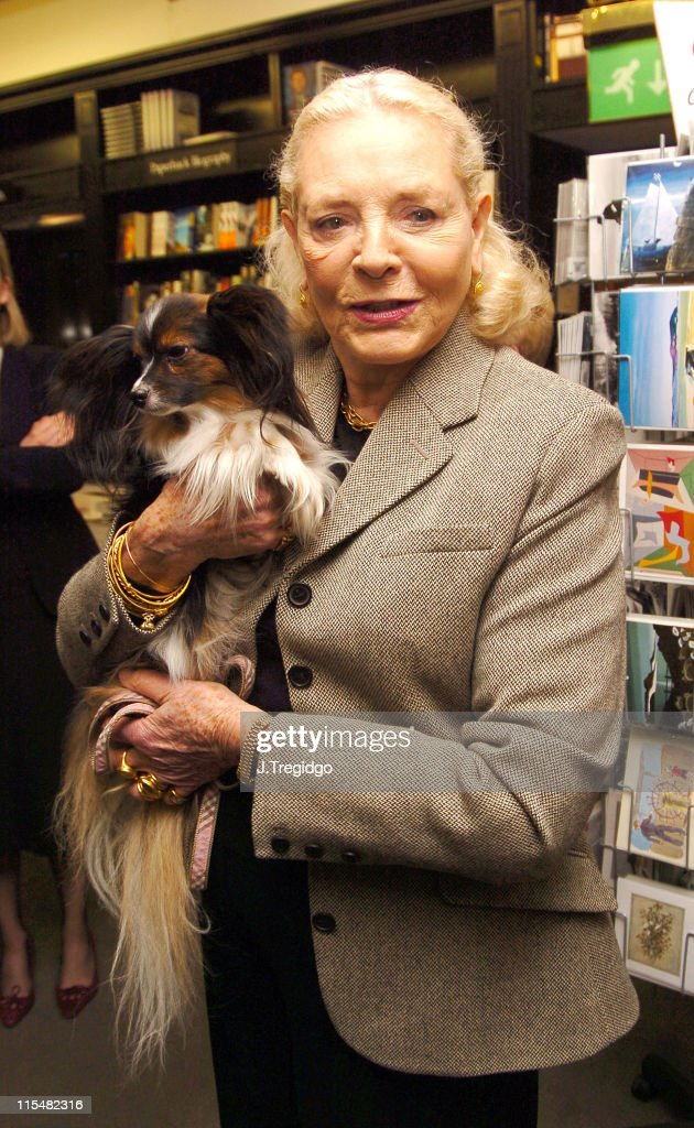 Lauren Bacall during Lauren Bacall Signs Her Book 'By Myself, and Then Some' at Hatchards in London at Hatchards, 187 Piccadilly in London, Great Britain.