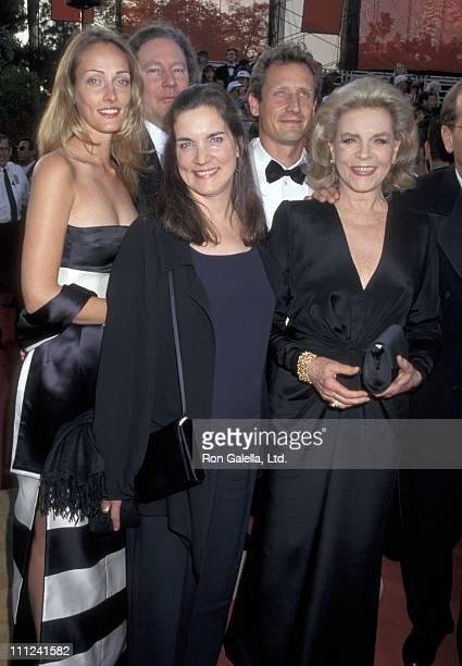 Lauren Bacall Leslie Bogart Sam Robards and Sisdel Robards