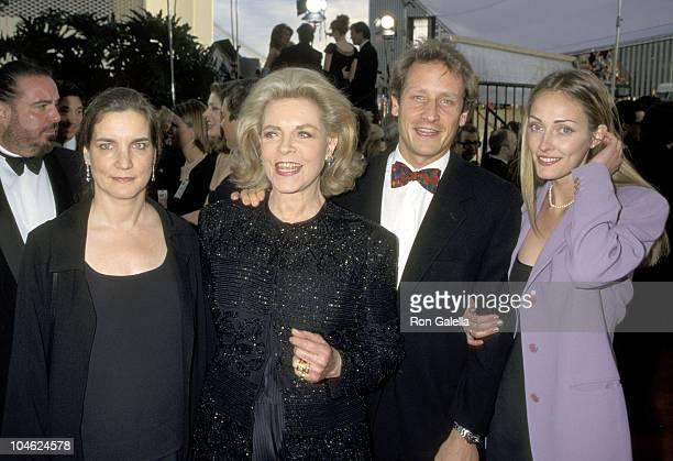 Lauren Bacall Leslie Bogart Sam Robards and Wife Sisdel Robards