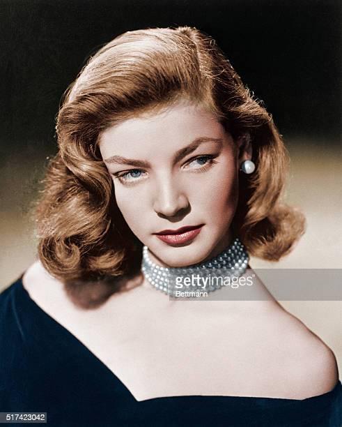 Lauren Bacall portrait 1948