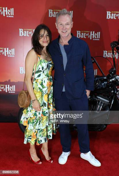 Lauren Barber and Gary Kemp attend the press night of 'Bat Our Of Hell The Musical' at The London Coliseum on June 20 2017 in London England