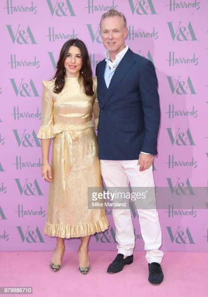 Lauren Barber and Gary Kemp attend the VA Summer Party at The VA on June 20 2018 in London England
