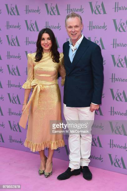 Lauren Barber and Gary Kemp attends the VA Summer Party at The VA on June 20 2018 in London England