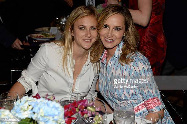 Lauren BlitzerWright and singer Chely Wright attend the Family Equality Council's 2014 Night at the Pier at Pier 60 on May 12 2014 in New York City