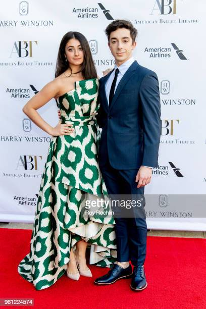 Lauren Bonfiglio and Tyler Maloney attend the 2018 American Ballet Theatre Spring Gala at The Metropolitan Opera House on May 21 2018 in New York City
