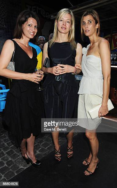 Lauren Booth Lady Helen Taylor and Princess Rosario of Bulgaria attend the Prada Congo Benefit Party raising money for 'The City of Joy' a project on...