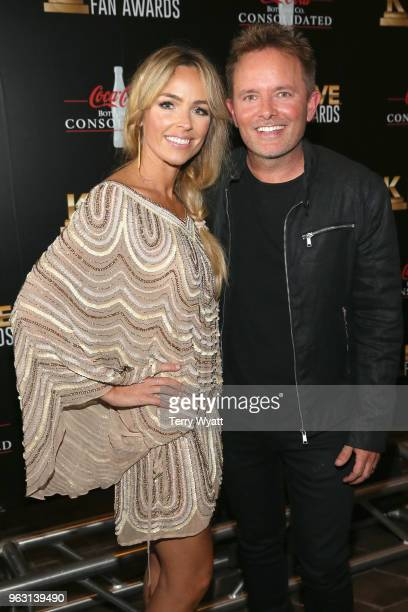 Lauren Bricken artist Chris Tomlin attends the 6th Annual KLOVE Fan Awards at The Grand Ole Opry on May 27 2018 in Nashville Tennessee
