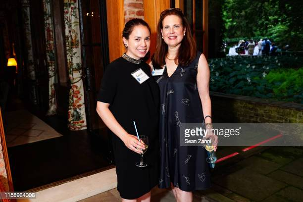 Lauren Brincat and Andrea Hart attend A Country House Gathering To Benefit Preservation Long Island on June 28 2019 in Locust Valley New York