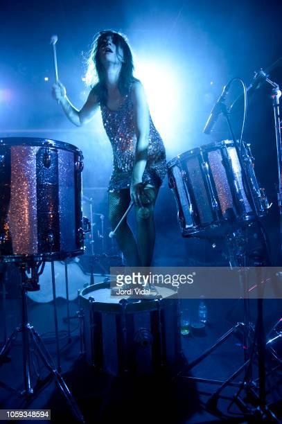 Lauren Brown of Kolars performs on stage at Sala Apolo on November 8 2018 in Barcelona Spain