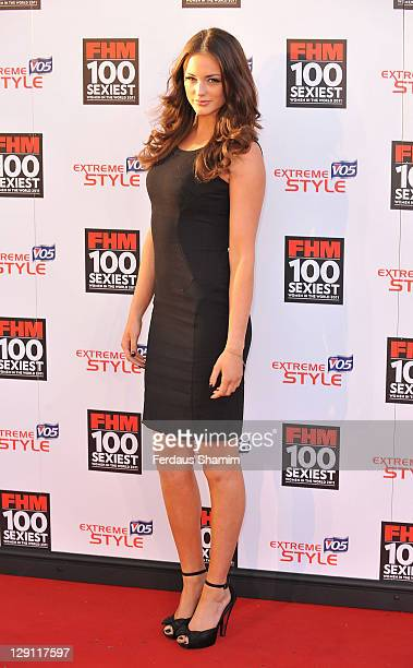 Lauren Budd attends party celebrating FHM Magazine's 100 Sexiest Women in the World 2011 at One Marylebone on May 4 2011 in London England