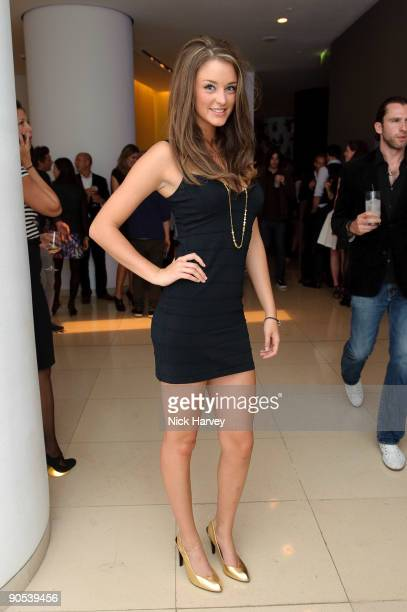 Lauren Budd attends the 10th anniversary party of St Martin's Lane Hotel at St Martin's Lane Hotel on September 9 2009 in London England